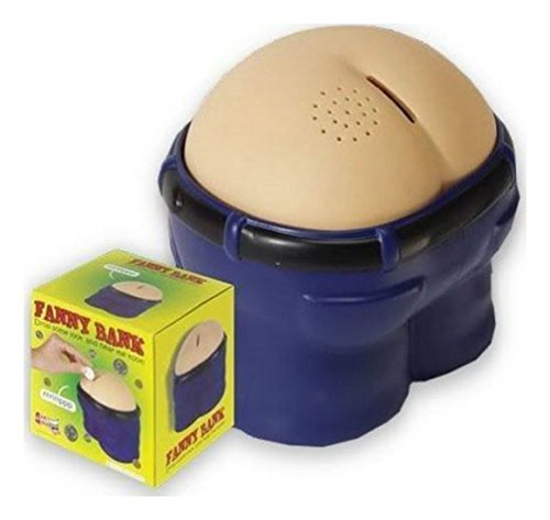 New! Funny Coin Drop Bank!