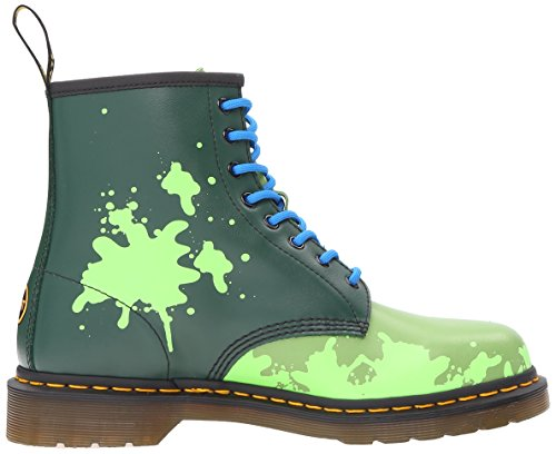Dr.Martens Womens Leo 1460 8-Eyelet Leather Boots Green