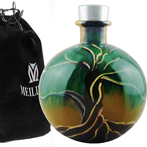 MEILINXU Tree Of Life Globular Urn