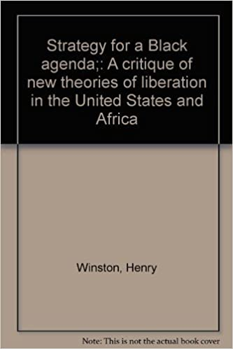 Strategy for a Black agenda;: A critique of new theories of ...