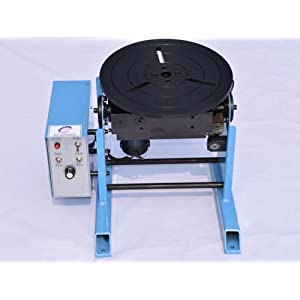 HD-50 50KG welding positioner welding turntable with lathe chuck various size (chuck 300 220V)