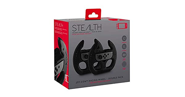 Stealth Nintendo Switch Joy-Con Racing Wheel Twin Pack [Importación inglesa]: Amazon.es: Videojuegos