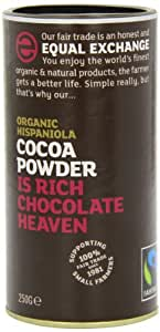 Equal Exchange Fairtrade Organic Hispaniola Cocoa Powder 250 g (Pack of 2)