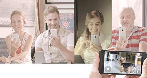 Pawbo Life Wi-Fi Pet Camera (2nd Gen): 720p HD Video, 2-Way Audio, Video Recording, Treat Dispenser, and Laser Game