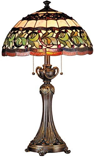 Dale Tiffany TT101110 Aldridge Table Lamp, Antique Bronze