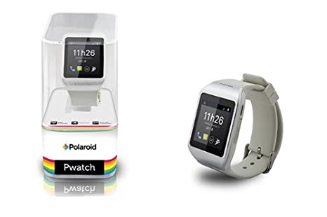 Polaroid PWatchBlancSilver - Smartwatch Bluetooth 3.0 ...