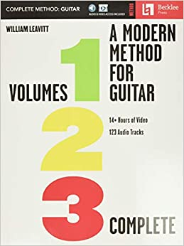 A Modern Method for Guitar: Volumes 1, 2, and 3 complete with 14 hours of video lessons and 123 audio tracks: Volumes 1, 2, and 3 with 14+ Hours of Video and 123 Audio Tracks