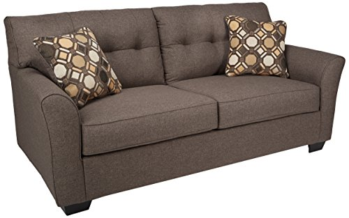 Ashley Furniture Signature Design - Tibbee Sofa - Contemporary Style Couch - Slate ()