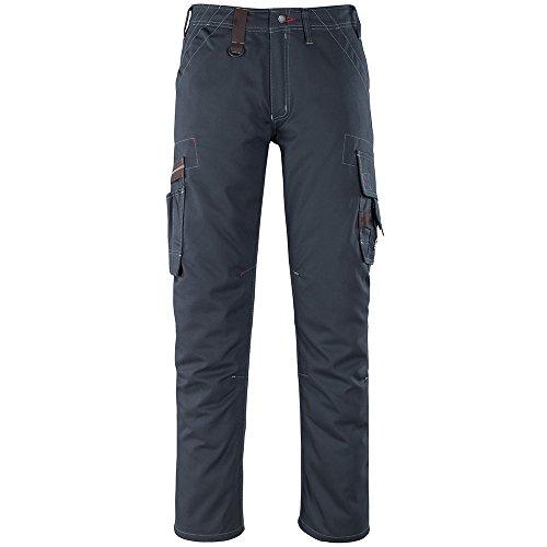 Mascot 07279-154-010-82C46 Rhodos Pantalon de service Taille Longueur 82 cm/C46 Noir Bleu