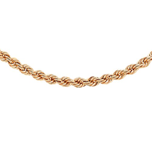 Carissima Gold - Chaîne maille corde - Or jaune 9 cts - 46 cm - 5.12.0184