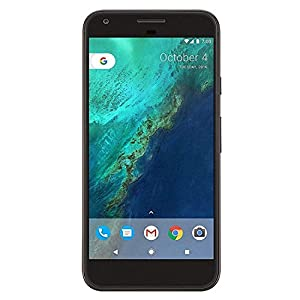 Google Pixel XL, Verizon Wireless + GSM unlocked 128GB, Quite Black (Renewed)