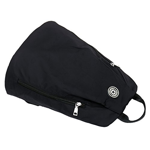 Dabixx Daypack Purple Nylon Waterproof Black Large Capacity Travel Backpack Women Lightweight Rq1HBRT