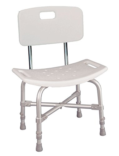 Drive Medical Deluxe Barbaric Bath Bench - Withoutback Capacity Bariatric Bath