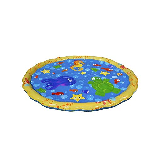 New Open Sale!!! Inflatable Baby Water Play Mat Diameter Sprinkle & Splash Pad Fun Educated Tub Play Center for Children Infants Pets Air Bed Water Bed for Kids