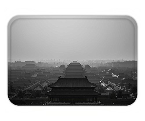 Beshowere Doormat forbidden city seen from jingshan park temple on a hill beijing - City Of Chino Hills