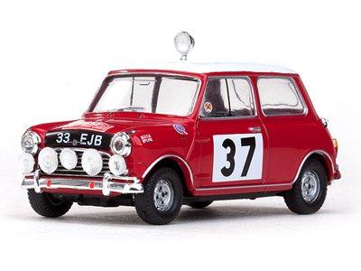 1/43 モーリス クーパー - #37 P.Hopkirk / H.Liddon 1st Rallye Monte Carlo 1964 43330