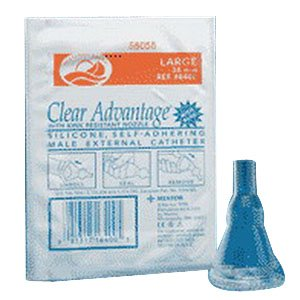 Freedom Clear Advantage Self-Adhering Male External Cathe...