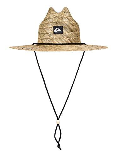 Quiksilver Men's Pierside Slim Straw Hat, Natural, Small/Medium