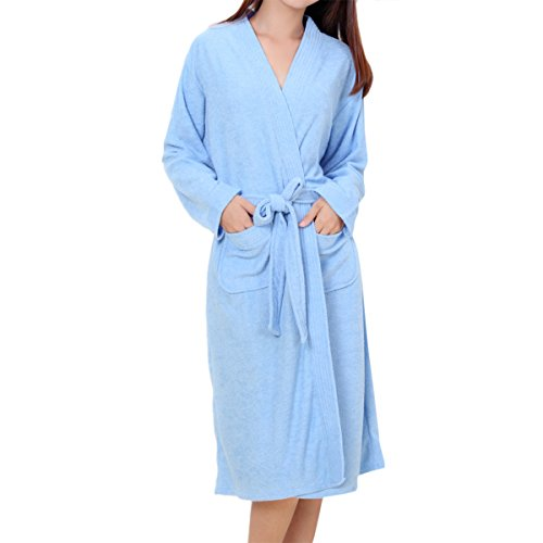 LAPAYA Womens Turkish Kimono Bathrobe