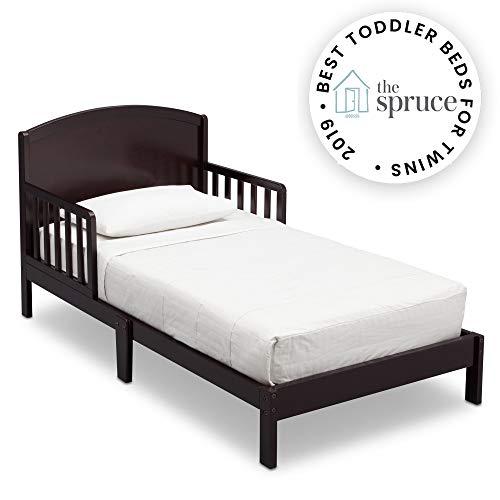 Delta Children Abby Toddler Bed, Dark Chocolate