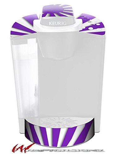 Rising Sun Japanese Purple - Decal Style Vinyl Skin fits Keurig K40 Elite Coffee Makers (KEURIG NOT INCLUDED) by WraptorSkinz
