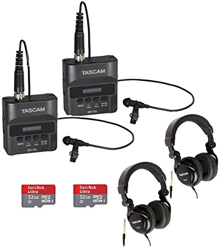 Tascam DR-60DmkII DSLR Audio Recorder with 32GB SD Card and