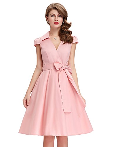V Neck Style Dresses Women CL6087