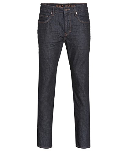 "Mac Herren Röhrenjeans ""Arne"" Slim Fit stoned blue (81) 34/34"