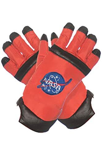 Underwraps Kid's Children's Astronaut Gloves Costume - Orange Childrens Costume, Orange, One Size - http://coolthings.us