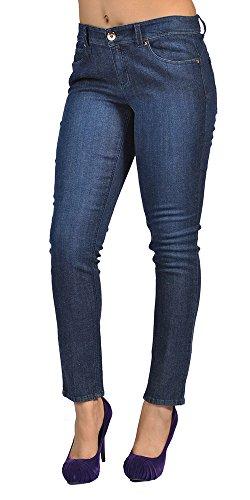 Cache Women Fashion Skinny High Fashion Jeans Blue
