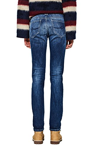 edc Esprit Slim Wash by Blue Dark 901 Femme Jean Bleu ArRAqwT