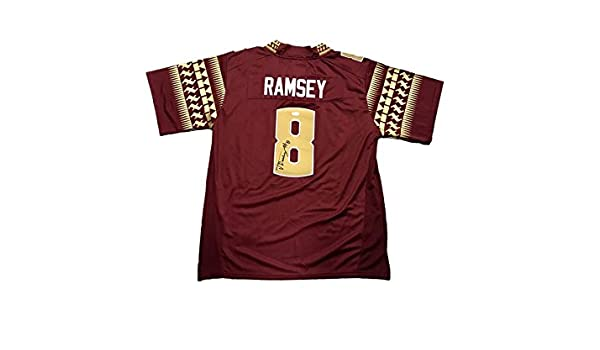 official photos c6013 683c9 Autographed Jalen Ramsey Jersey - FSU - JSA Certified ...
