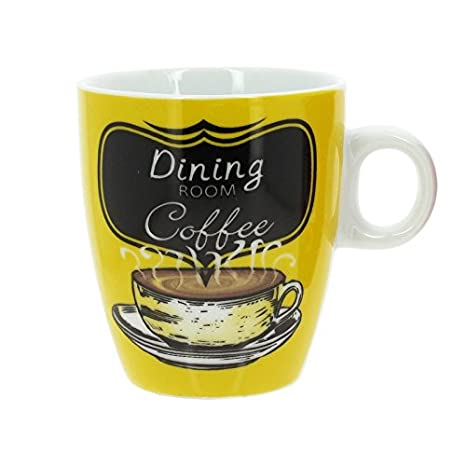 Porcelaine Thekitchenette Tasses Café Assorties En À 15cl Décors School 6 Lot De Old vwO08mNn
