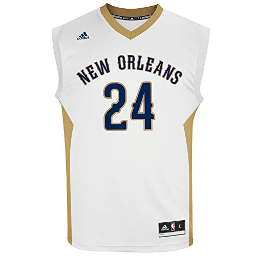 NBA Men's New Orleans Pelicans Buddy Hield Replica Player Home Jersey, Large, White