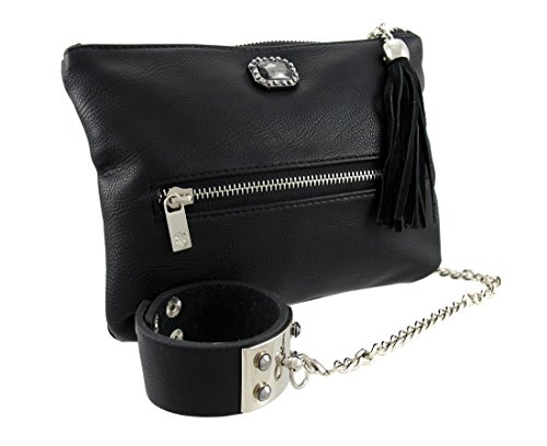 Things2Die4, Poschette giorno donna nero Black