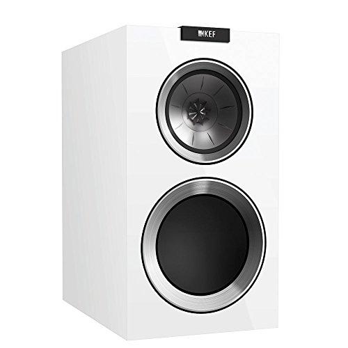 KEF R300 Bookshelf Loudspeaker – Gloss White (Pair)