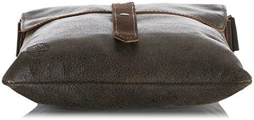 Timberland - Tb0m5587, Shoppers y bolsos de hombro Hombre, Marrone (Chocolate Brown), 1x30x26 cm (W x H L)