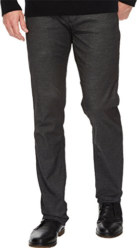 Calvin Klein Jeans Men's Slim Straight Jean, Rinse Black, 36W 32L by Calvin Klein