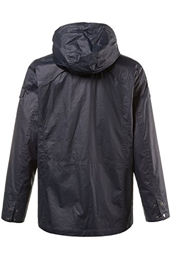 JP 1880 Herren große Größen bis 7 XL | Regen-Jacke | Übergangsjacke | Friesennerz mit abnehmbarer Kapuze | 6 Taschen & Beschichtung | navy XL 705624 70-XL