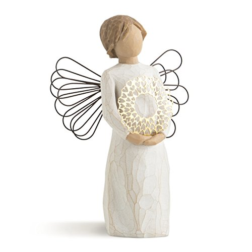 Willow Tree Sweetheart Angel, sculpted hand-painted figure ()