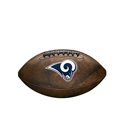 NFL Junior Throwback Team Logo Football - Los Angeles Rams