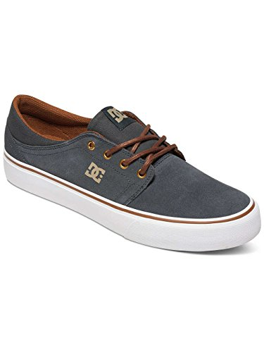 DC Shoes Trase SD - Chaussures basses - Homme - US 8.5 / UK 7.5 / EU 41 - Gris