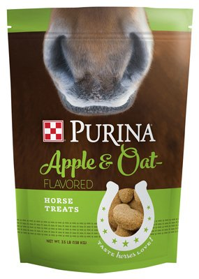 Purina Apple and Oat Flavored Horse Treats, 3.5 lb Bag by Purina