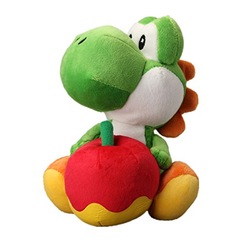 uiuoutoy Super Mario Bros. Yoshi with Apple Plush - Apple Plush