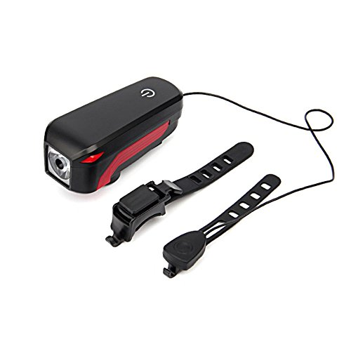 Super Bright Bicycle Headlight USB Rechargeable Waterproof LED Bike Light Touch Switch Light by Isguin (Image #1)