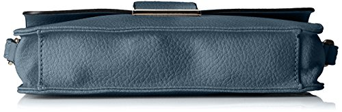 GERRY WEBER Damen Talk Different Ii Shoulderbag Shf Schultertaschen, 24x13x5 cm Blau (400)