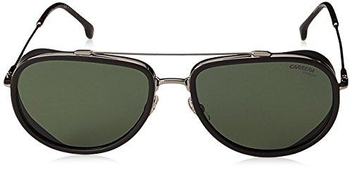 Carrera-166s-Polarized-Aviator-Sunglasses-Ruthenium-18-mm