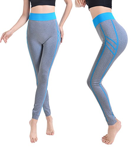 VAMEI Women Fitness Seamless Tight Full-length Yoga Pants