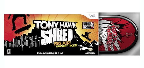 TONY HAWK SHRED EXCLUSIVE BIRDHOUSE BOARD Wii TOYS R US LIMITED EDITION by Blizzard Entertainment (Image #1)
