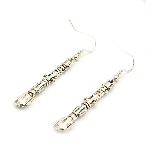 Dangle Earrings Dr. Who Sonic Screwdriver In Gift Box by Superheroes (Super Sonic Costume)